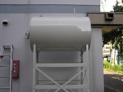 オイルタンク更新工事。<br /> 施工後<br /> オイルタンク 1000L更新完了。