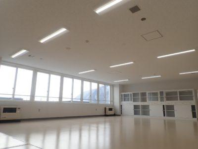 教室の全景