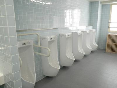 トイレも新しく、きれいになりました。