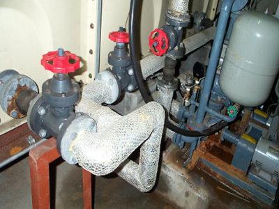 給水ポンプ施工実施前状況