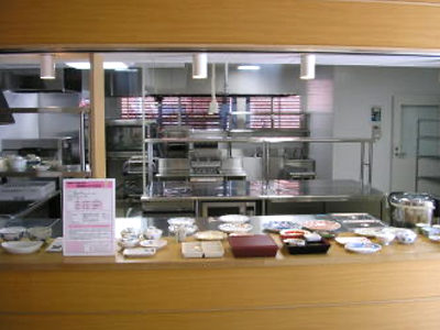 厨房(機能的で衛生的な配慮がされています)